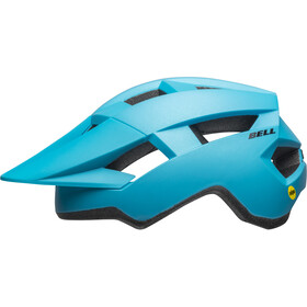 Bell Spark MIPS Casco, matte bright blue/black